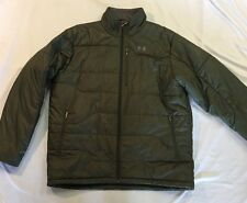 Under Armour Performance Parka Coat Winter Jacket Insulated Green Men's XL