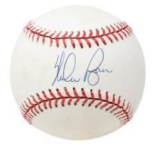Nolan Ryan Signed Texas Rangers Official American League Baseball BAS