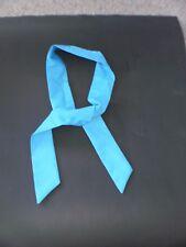 """BLUE"" colour Neck Cooler Scarf  Cold Therapy Bandana Wrap SIZE: ""5cm x 100cm"""