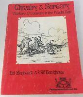 Chivalry & Sorcery Warfare & Wizardry In The Feudal Age 1977 1st ed D&D RPG FGU