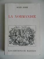 Jules Janin La Normandie Las Ediciones de La Bastion Tirada Numerada 1994