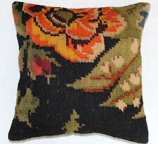 Kelim Kissen 40x40cm Kilim Cushion Kissenbezug Pillow Dekokissen Türkei Neu K708