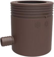 Marley Regensammler mit Filter und Überlaufstop DN 75 braun Regenrinne Neuware