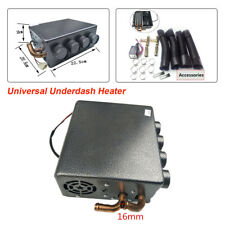 Universal Gray 4 port iron Underdash Heater+ copper tube for car truck etc