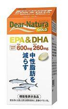 Asahi Dear Natura Gold EPA DHA Omega 3 Fish Oil  Health Beauty Japan
