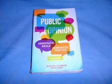Public Opinion Democratic Ideals 2nd Ed. Clauson Oxley Softcover Textbook Used