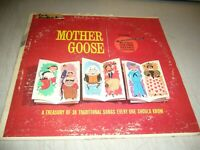 MY FIRST RECORD VOL 1 MOTHER GOOSE LP VG+ Golden Record Library BRC-V-1 1962