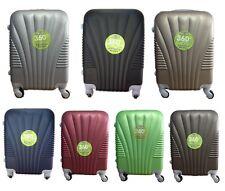 Maleta pequeña para cabina rígida 4 ruedas 360º gira equipaje de mano Low cost