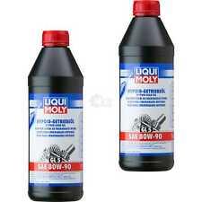 2x Liqui Moly 1L Hypoid-Getriebeöl GL5 SAE 80W-90 MB 235.0 MAN 342 TYP M1 4406