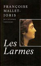 Les larmes.Françoise MALLET- JORIS.France Loisirs CV08