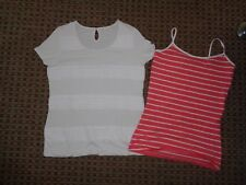 PER UNA-LADIES T-SHIRT SHIRT TOP SIZE 10-12 CASUAL SMART WORK EVERYDAY STRETCH