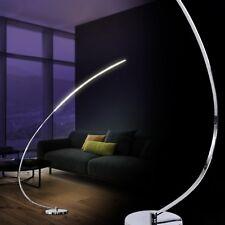 Lampadaire à arc LED Lampe de sol Lampe sur pied Design Luminaire Chrome 133921