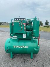 Used 25 HP Sullair Rotary Compressor 105 CFM @ 125 PSI