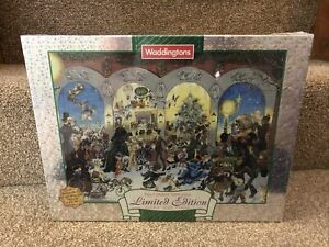 Waddingtons 1000 piece super deluxe puzzle Christmas Limited Edition Double Side