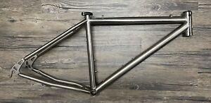 "litespeed Pisgah  26"" titanium mountain bike  frame, Medium, Disc, Really Nice"