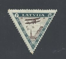 LATVIA 1933 AIR CHARITY 7-57s. PERF 11½ MINT NEVER HINGED  SG 241A