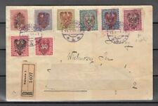 POLEN, 1919 Tarnow Brief mit Handstempelaufdruck II, (25589)