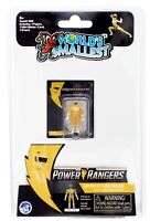 Worlds Smallest Mighty Morphin Power Rangers Micro Action Figure: Yellow Ranger