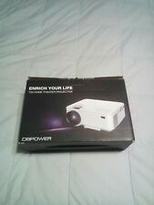 DBPOWER T20 LCD Mini Movie Projector for TV Laptop iPhone Andriod Portable Home