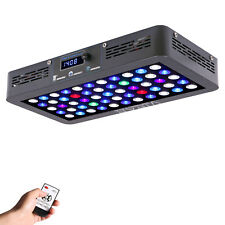 VIPARSPECTRA Timer Control 165W LED Aquarium Light Dimmable for Coral Reef Tank