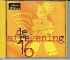 CD : De Afrekening 16 - Studio Brussel