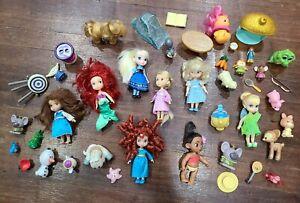 Disney Princess Animators Collection Mini Doll Lot