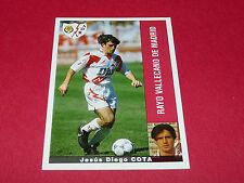 JESUS DIEGO COTA RAYO VALLECANO PANINI LIGA 95-96 ESPANA 1995-1996 FOOTBALL