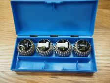 Vntg Ibm Selectric 4 Ball Heads Courier 96 Pica 96 Letter Goth Olde World