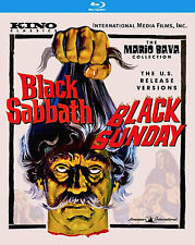 BLACK SABBATH/SUNDAY Mario Bava BLU-RAY The U.S. Release AIP Versions *RECALLED*