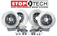 Stoptech Front + Rear Premium Rotors & Street Pads Toyota Sequoia Tundra LX570