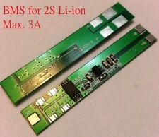 PCB for 2 Packs 2S 7.2V 18650 Li-ion Ni-Cd Ni-MH Battery Cell max. 3-6A