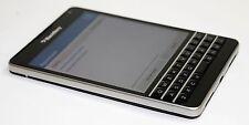 BlackBerry Passport 32GB Black (Unlocked)AT&T WiFi LTE 4G Smartphone great