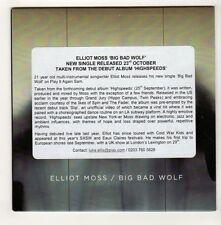 (GL291) Elliot Moss, Big Bad World - 2015 DJ CD