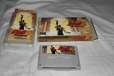 Hokuto No Ken 5 Tenma Ryuuseiden AI Zetsu (Japanese Super Famicom Import! SNES)