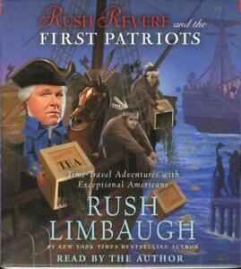 New RUSH REVERE AND THE FIRST PATRIOTS Unabridged Audio CD of Book 2 Limbaugh
