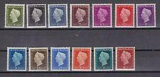 Niederlande 1947/1948 postfrisch MiNr. 477-489  Freimarken Königin Wilhelmina