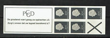 Nederland Postzegelboekje PB 6aB Breed kruis Postfris