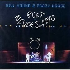 """Neil Young & Crazy Horse """"Rust Never Sleeps"""" CD NUOVO"""