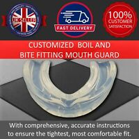 Gum Shield Rugby Boxing Mouth Guard MMA Sports Martial Arts Teeth Protection