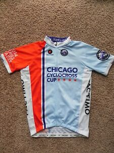 Chicago Cyclocross Cup Cycling Jersey NEW size small Pactimo