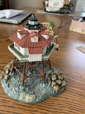 Thomas Point Shoal Lighthouse, Annapolis, Maryland. Harbour Lights #181 - Signed