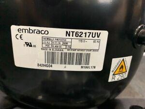 Embraco Compressor Mod.: NT6217UV 1/2 HP Medium Back Pressure R290 115v/60/1