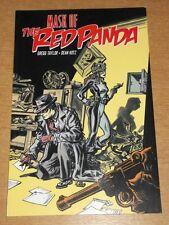 RED PANDA MASK OF THE RED PANDA IDW GREGG TAYLOR DEAN KOTZ< 9781613778715