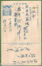Japan Nippon  日本ニッポン Ganzsache Klassifizierung nach Dr. Ascher  JAP 33  von 1916