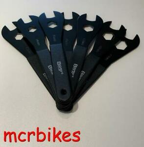 Bicycle Cone Spanners 13-19MM Open Ended Cup & Cone Bearing Adjuster Tools