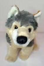 "Aurora 12""  Wily Wolf Flopsie Plush Stuffed Animal Toy #30503 Husky Dog Plush"