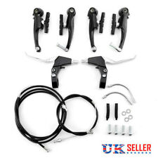 Durable Mountain Cycling BMX MTB Bike Alloy V Brake  Levers Cables Complete Set