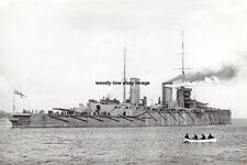 rp14541 - Royal Navy Warship - HMS Queen Mary , built 1913 - photo 6x4