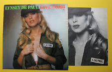 Lynsey De Paul Mercury DJ Disco Funk LP 1975 Pin-Up Cover