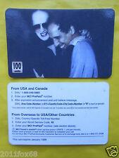 1998 phone cards 100 units mina adriano celentano telefoniche 1998 telefonkarten